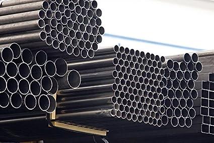Tubi In Ferro Zincato Usati.Profilo Barra Tubo Tondo Tonda In Ferro Vari Diametri Lugnezza 3 Metri Diametro Esterno 40mm Spessore 1 5 Mm