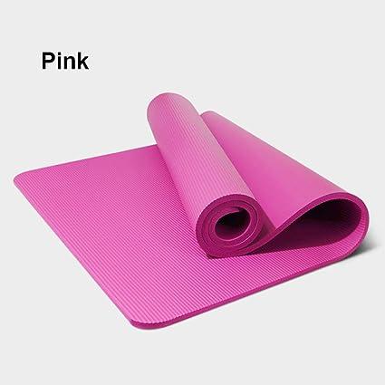 HYTGFR Esterilla Yoga Antideslizante 10 Mm Antideslizante ...