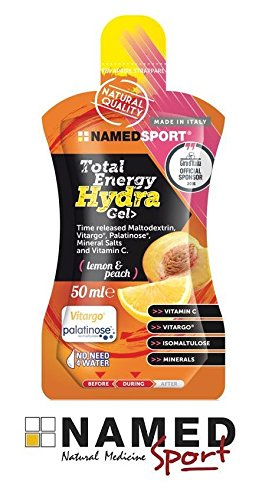 Novita named Sport Total Energy Hydra Gel con sales minerales y vitamina C – 50