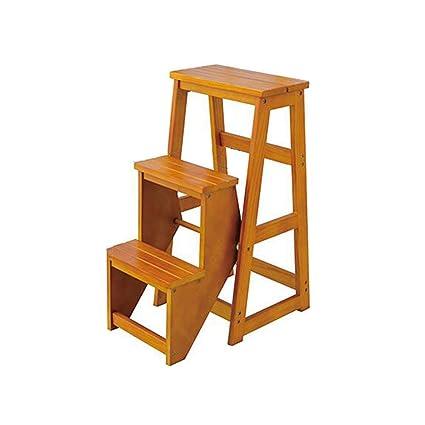 Dsgdfh Silla: Taburete Escalera Plegable para escalones ...