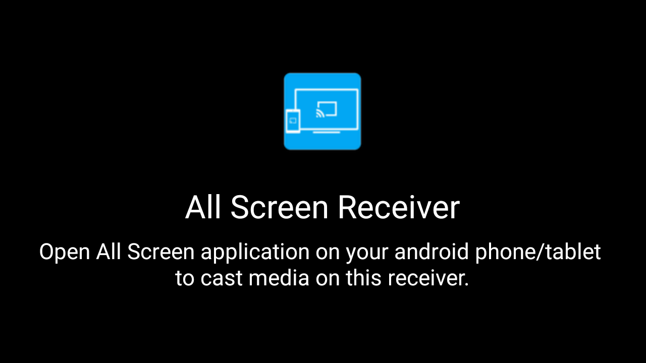 All Screen Receiver
