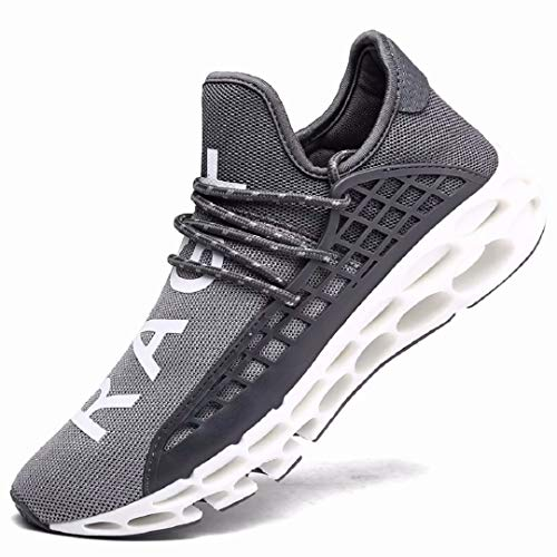 XIDISO Men Women Running Shoes Sneakers for Mens and Womens Fashion Casual Walking Shoes Outdoor Running Blade Sneakers (Best Running Shoes For Casual Wear)