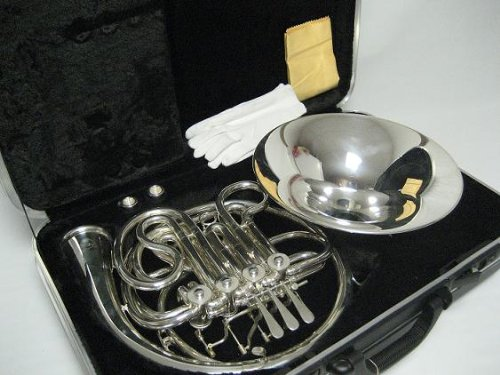 OPUS USA by Ktone Professional Silver Double French Horn Brand New by OPUS USA by Ktone