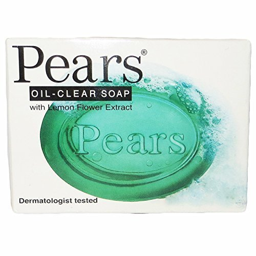 Pears Glycerine Soap - Pears Oil-clear Bar Soap, with Lemon Flower Extract, Dermatologist Tested, 3.5 Ounces (Pack of 12)