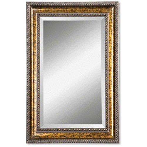 Uttermost 11291 B Sinatra Mirror, Large, Bronze, Brown
