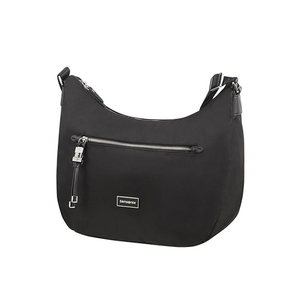 Hobo Bag M Borsa Messenger 36 cm Nero Black SAMSONITE Karissa