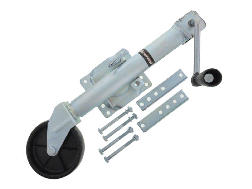 Support de roue Trailer Jack . Pliable Pour remorque Charge dappui/: 450/kg 1000/Lb Diam/ètre/: 50/mm Trailer Jack
