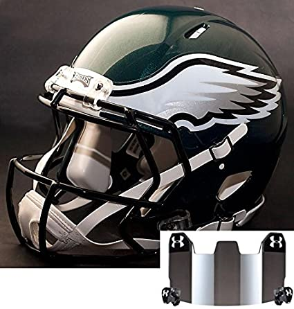 cc02ddfecb8 Image Unavailable. Image not available for. Color  Riddell Speed  Philadelphia Eagles NFL Replica Football Helmet ...