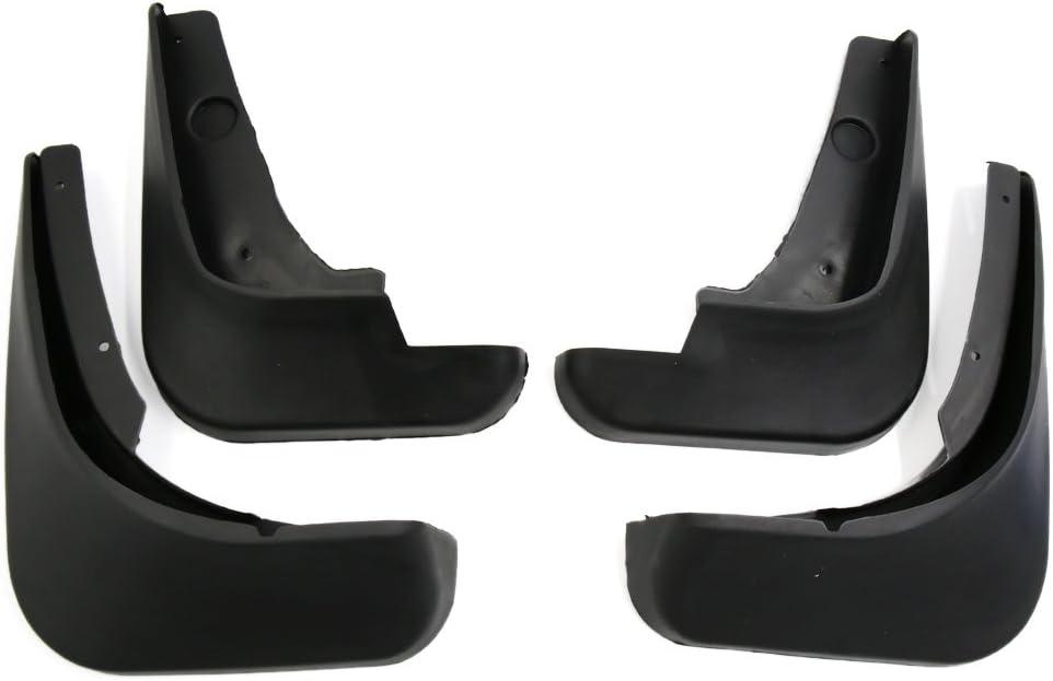 uxcell 4PCS Black Front Rear Mud Flaps Splash Guards Fender Mudguard for Cruze