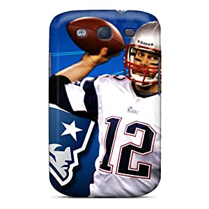 New Premium Flip Case Cover New England Patriots Skin Case For Galaxy S3