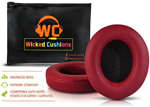 Wicked Cushions Beats Replacement Ear pads - Compatible with
