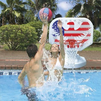 Poolmaster USA Competition Poolside Basketball Game by None
