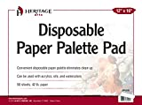 Heritage Arts PP1216 Disposable Paper Palette Pad 12 inches x 16 inches