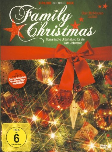 (Family Christmas (3 Films + Audio-CD) (Nothing Like the Holidays, Alles was Du Dir zu Weihnachten wünschst, Christmas Show) (German Release) )