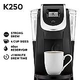 Keurig K250 Single Serve, K-Cup Pod Coffee Maker with Strength Control, Black