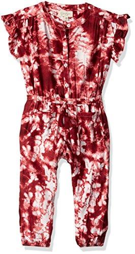 Jessica Pant Suit - Jessica Simpson Baby Girls Fashion Jumpsuit, Rapture Rose tie dye, 24M