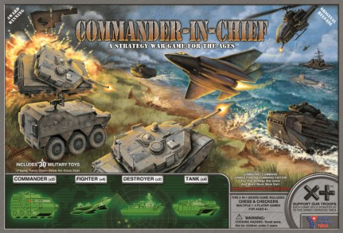 CNC Family Commander-in-Chief (Military Strategy Board Games)