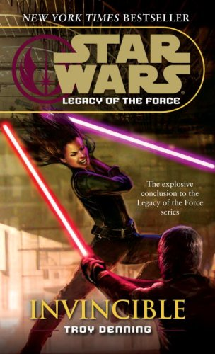 Star Wars: Legacy of the Force 9 - Invincible - Book  of the Star Wars Legends
