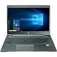 CUK Zbook 14u G5 3.27lb Business Laptop (Intel i7-8550U, 16GB RAM, 500GB NVMe SSD, AMD Radeon Pro WX 3100 2GB, 14.0 Full HD IPS, Windows 10 Pro) Mobile Workstation Ultrabook
