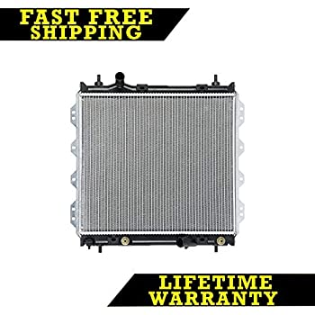 "2298 New Radiator For Chrysler PT Cruiser 01-10 2.4 L4 Lifetime Warranty 1/"" core"