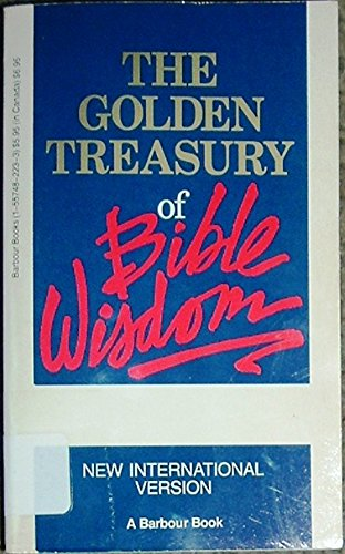 The Golden Treasury of Bible Wisdom: New International Version from Brand: Barbour Publishing, Incorporated