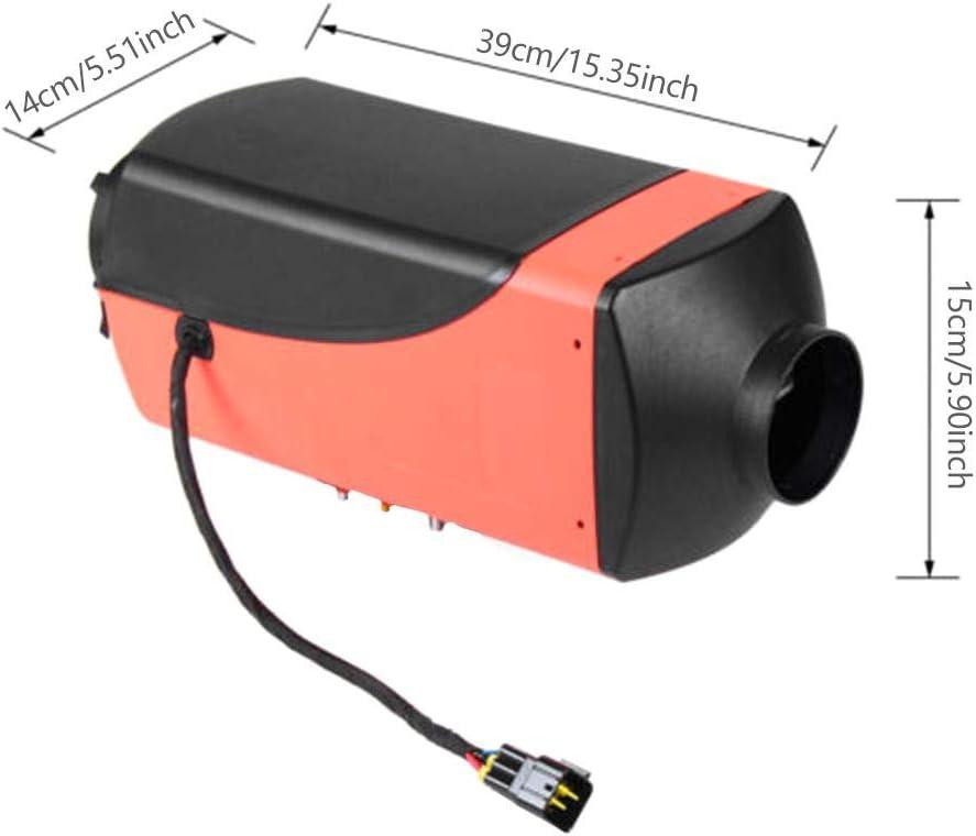 VR bateaux R/échauffeur de v/éhicule 12V 5KW pour camionnettes thermostat LCD Voitures Camions Motor-Homes Bateaux Stationnement dautobus Vitesse Cha camions Air Diesel Heater remorque de voiture