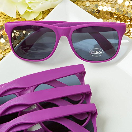Perfectly Plain Collection Purple Fashion Sunglasses , - Wedding Guests For Sunglasses