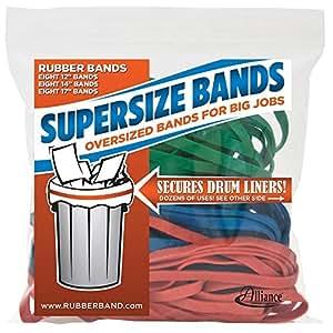 Amazon Com Alliance Rubber 08997 Supersize Bands