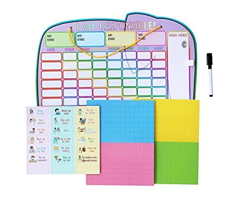 kids star chore chart - 9