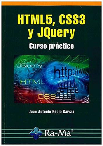 Libro Curso HTML5, CSS3 y JQUERY