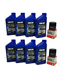 YAMAHA GENUINE  24' SPORT BOAT TWIN ENGINE Oil Change & Maintenance Kit GENUINE OEM YAMAHA PARTS FITS: TWIN ENGINE 1.8L BOAT MODELS LISTED BELOW: AR240 242 LIMITED 242 LIMITED S 242 LIMITED / S/ E-SERIES 242X 2017+ 212X SX240 Kit includes...