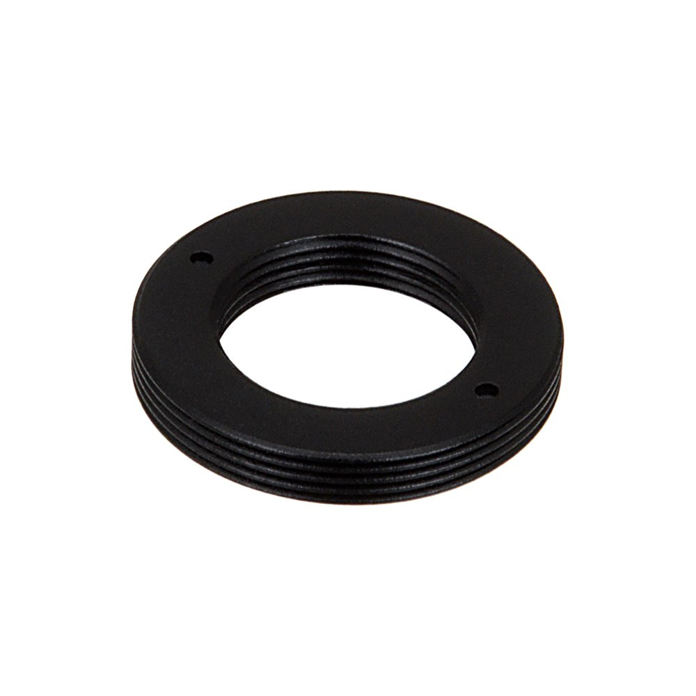 Fotodiox Pro Lens Mount Adapter D-Mount Cine Lens to C-Mount (1'' Screw Mount) Cine & CCTV Camera Body