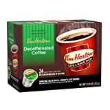 Tim Hortons Single Serve Coffee Cups, Decaffeinated, 24 Count