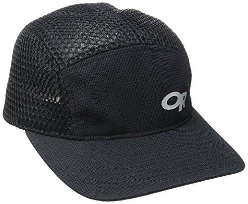 Outdoor Research Mesh Running Hat, Black, Small/Medium