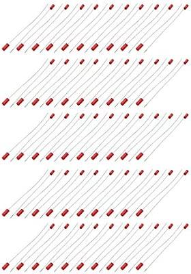 sourcing map 100 piezas Sujetacables de acero cinchos