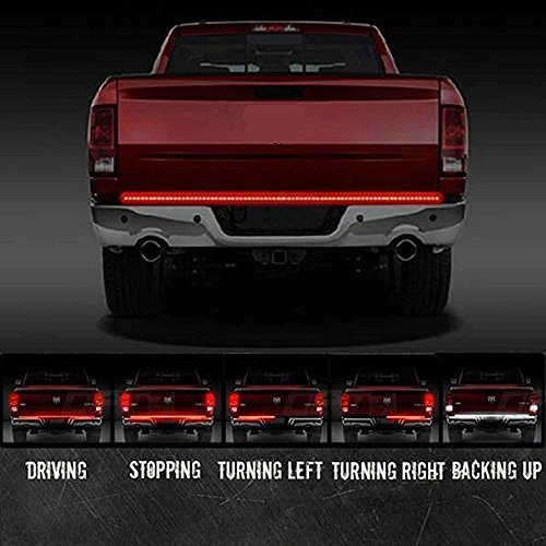 LED Strip Bar Light,60 Inch Waterproof Tailgate Turn Signal Tail Light for Car Truck Tailgate Light Bar