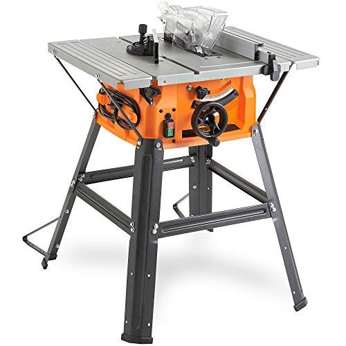 "VonHaus 1500W 8"" (210mm) Table Saw 5000rpm - Circular Mitre Function –..."