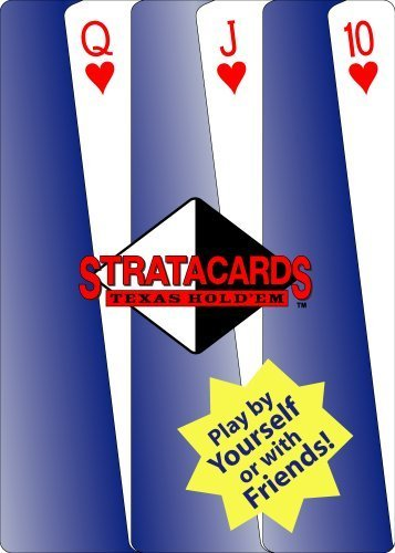 Texas Hold'em StrataCards - Self-Playing Poker Cards from Poker Face Games