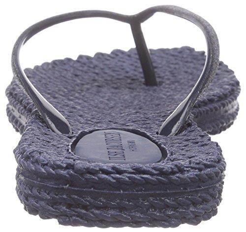 ILSE JACOBSEN Cheerful01 - Chanclas de caucho para mujer Azul Marino