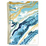 """bloom daily planners 2018-2019 Academic Day Planner - Monthly Weekly Datebook/Calendar Book - Inspirational Dated Agenda Organizer - (August 2018 - July 2019) - 6"""" x 8.25"""" - Geode"""