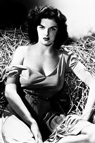Jane Russell 24X36 B&W Poster