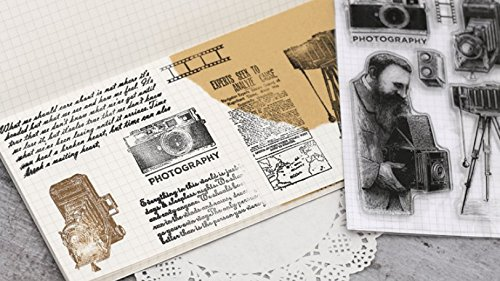Layhome Vintage Clear Stamp Stamping Scrapbooking Notebook Album Cards Decor (Photography) by Layhome (Image #1)