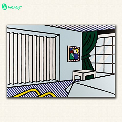 Daring Daring Large Size Print Oil Painting Wall Painting Bedroom By Roy Lichtenstein Wall Art Picture For Living Room Painting