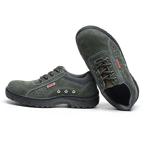 Chaussures de travail Anti-écrasement et Anti-perçage en été 030
