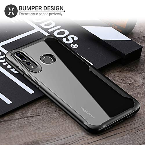 sports shoes a7be7 8500c Olixar Bumper Case Compatible with Huawei Nova 4 - Hard Tough Cover - Shock  Protection - Slim Clear Design - Wireless Charging Compatible - NovaShield  ...