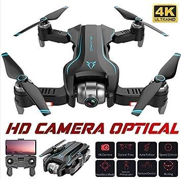 Dicstorets Azul Dron Profissional 4K/1080P Cuadricoptero con ...