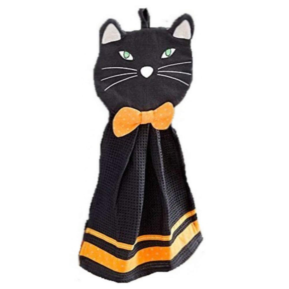 2-Pc. Halloween Kitchen Set (Black Cat)