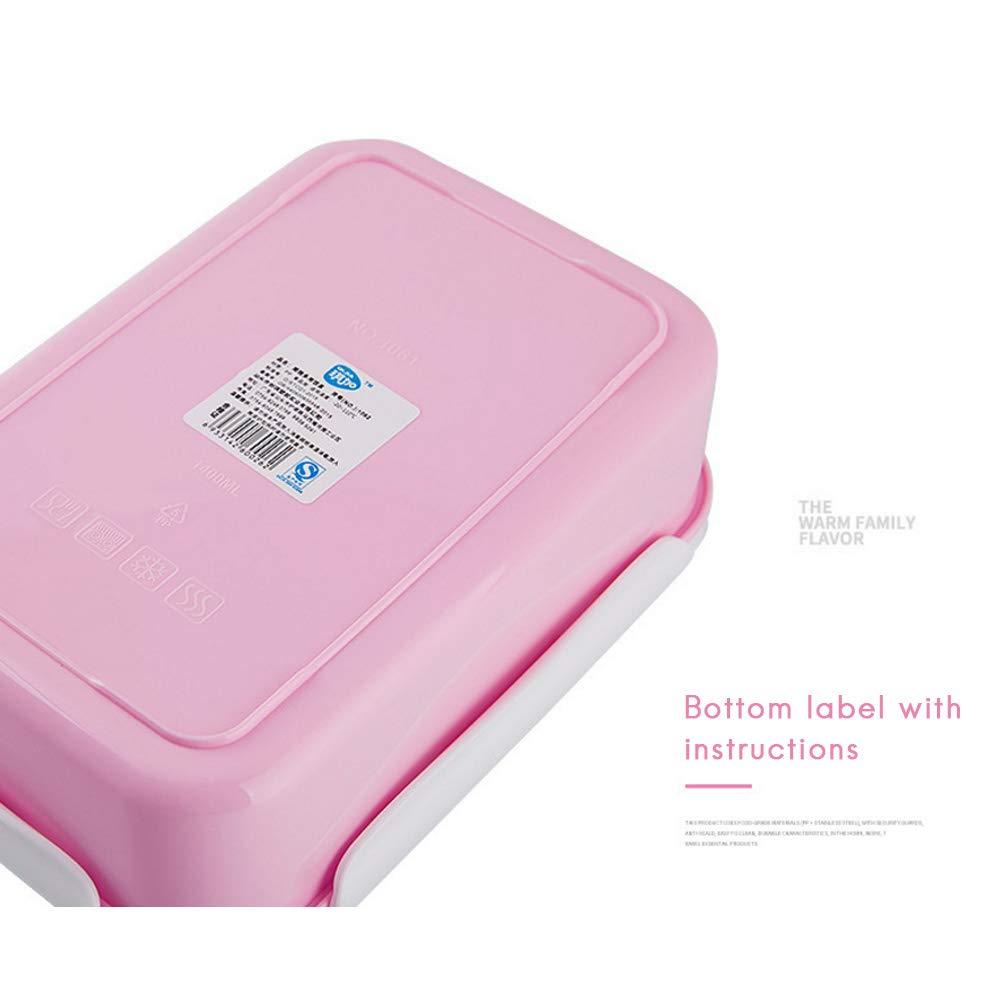 Surenhap Kinder Lunchbox Auslaufsicher Bento Box mit 5 F/ächern Suppenl/öffel /& Gabel BPA Frei umweltfreundliche Brotdose Lebensmittel Container