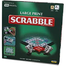 Scrabble - Large Print - Crossword Game - 10108