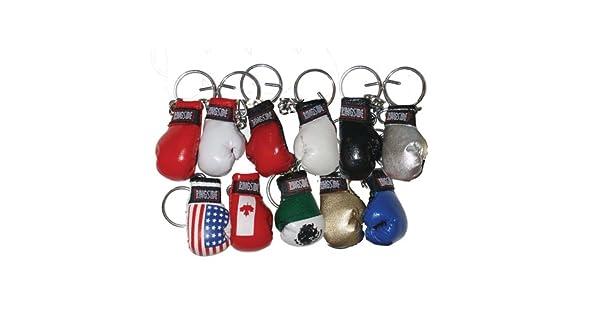 Amazon.com: Ringside Pequeño Guante de boxeo llavero: Sports ...